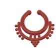 Télécharger fichier STL faux crochet nasal FAUX PIERCAGE DE NIPPLE Femme Homme Non-perçage Corps Bijoux Bondage Poids femJ-39 3d print cnc, Dzusto