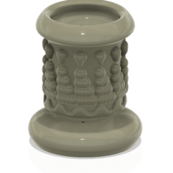 Download 3D print files King style vase cup vessel v305 for 3d-print or cnc, Dzusto