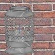 Download 3D model vase cup vessel v04 for 3d-print or cnc, Dzusto