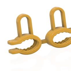 Télécharger STL Femme Broyeur petits seins clip pour les seins Bondage des seins Dispositif de chasteté pour femmes Soutien-gorge Contention sh1 3d print cnc, Dzusto