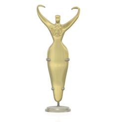 dancing_woman-01 v26 - 04.png Télécharger fichier STL bijoux et décoration de table ou strapon dick penis dildo 3d-print et cnc • Plan pour imprimante 3D, Dzusto