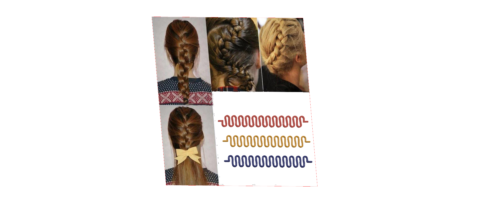 Female braid hair 04 v5-02.png Download STL file female hair braid hair styling roller hair accessories for girl headdress weaving tool 3d print cnc • 3D printing object, Dzusto