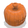 Download STL file real halloween pumpkin v11 candlestick magic ritual for 3d-print or cnc, Dzusto