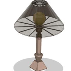 lamp-021-001 v1.png Télécharger fichier OBJ Abat-jour de table Lights Lampshade v021 pour une véritable impression 3D • Objet pour impression 3D, Dzusto