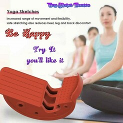Yoga-stretch-helper-02-0000.jpg Download STL file  Leg Stretcher Rocker Calf Ankle Muscle Calf Board Stretcher Yoga Fitness Sport Massage Pedal Foot 3d print yst-02 and cnc • Object to 3D print, Dzusto