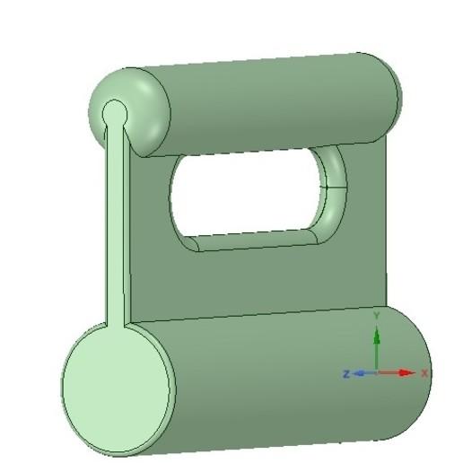 Download 3D printing designs Nylon Internal Flat Slide and Slug ABA-258_ustrong 3d-print, Dzusto