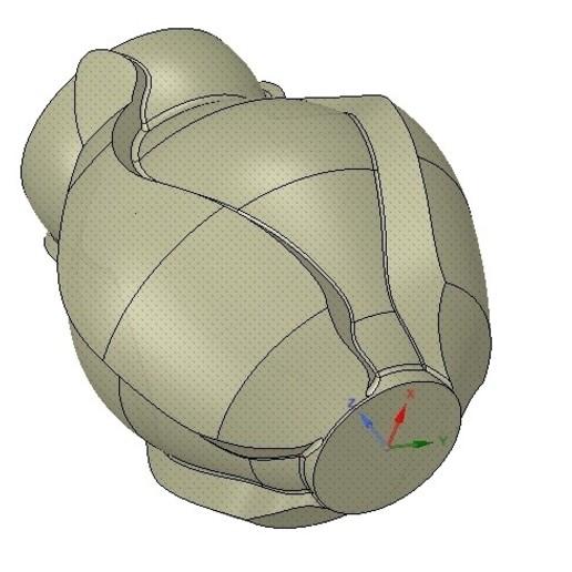 Vase05-10.jpg Download OBJ file vase cup vessel v05 for 3d-print or cnc • 3D printable template, Dzusto