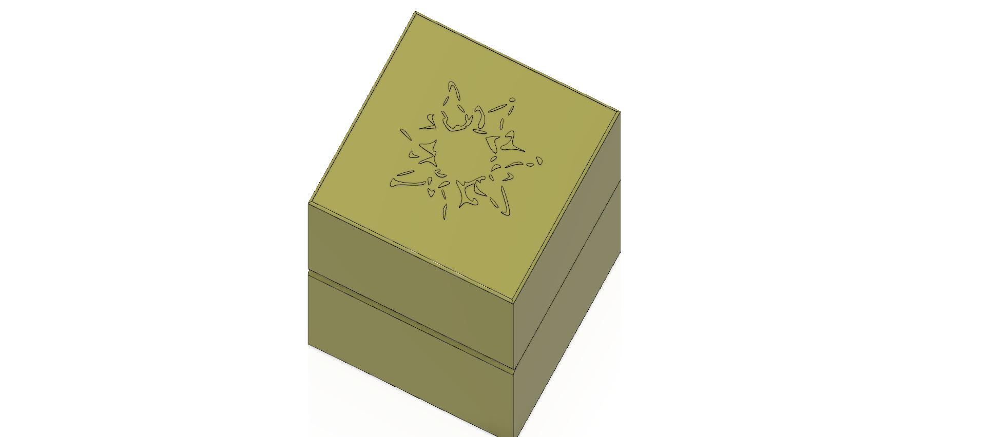 cube-02-a1 v1-05.png Descargar archivo OBJ Caja de regalo Caja secreta pequeña caja secreta Modelo de impresión en 3D • Modelo para imprimir en 3D, Dzusto