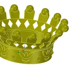 Download 3D print files emperor crown of 3d printer for 3d-print and cnc, Dzusto