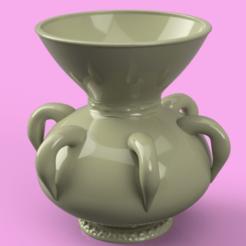 Download 3D printer templates historical vase cup vessel v306 for 3d-print or cnc, Dzusto