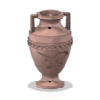 Download 3D printing templates vase amphora greek cup vessel v315 modern style for 3d print and cnc, Dzusto