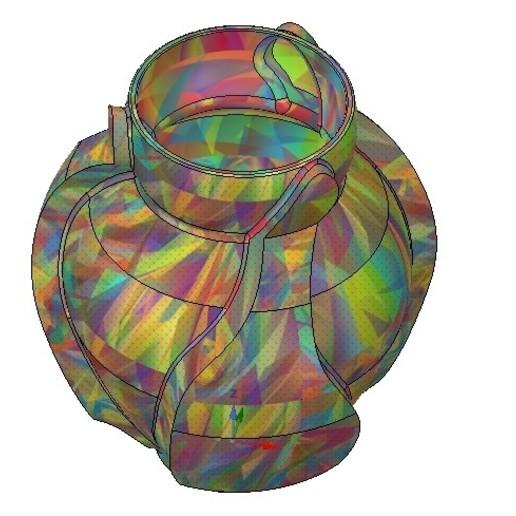 Vase05-07.jpg Download OBJ file vase cup vessel v05 for 3d-print or cnc • 3D printable template, Dzusto