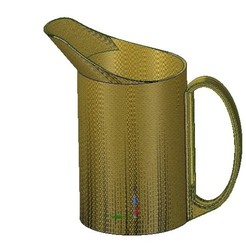 Download 3D printer files professional  cup pot jug vessel v02 for 3d print and cnc, Dzusto