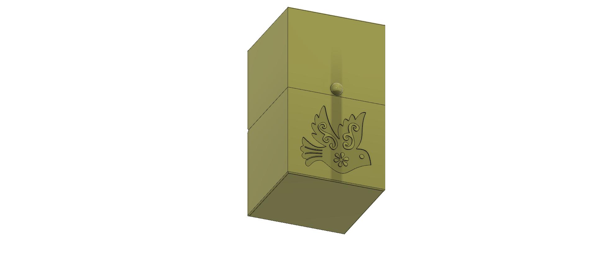 cube-02-a1 v1-06.png Descargar archivo OBJ Caja de regalo Caja secreta pequeña caja secreta Modelo de impresión en 3D • Modelo para imprimir en 3D, Dzusto