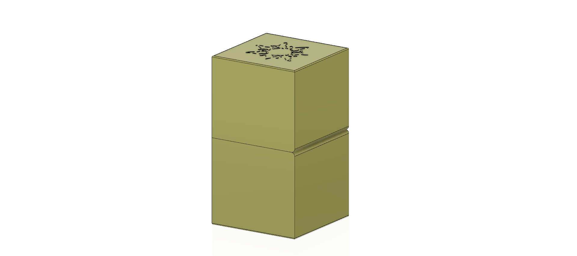 cube-02-a1 v1-03.png Descargar archivo OBJ Caja de regalo Caja secreta pequeña caja secreta Modelo de impresión en 3D • Modelo para imprimir en 3D, Dzusto
