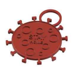 keychan-02 v1-00.png Download STL file keychan door hinge keyring trinket neck pendant  dv02 3d-print and cnc • 3D printing design, Dzusto