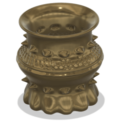 Download 3D printer files vase cup pot jug vessel Dragon Life for 3d-print or cnc, Dzusto