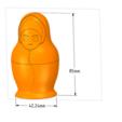 Download 3D printer templates nesting doll Gift Jewelry game Box 3D print model , Dzusto