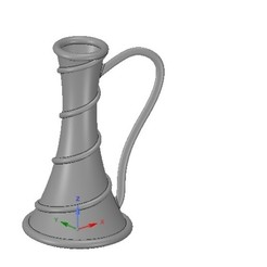 Download 3D print files vase cup vessel v19 for 3d-print or cnc, Dzusto