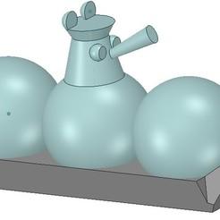 Download 3D printer templates Losharik Top Secret Children's Toy 3D Printing, Dzusto