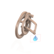 Download 3D printing files Male Chastity Device Cock Cage Penis Ring  Virginity Lock Chastity Belt Adult Game Sex Toy locker 3d print and cnc, Dzusto