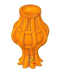 Download 3D printer designs vase cup vessel v29 for 3d-print or cnc, Dzusto