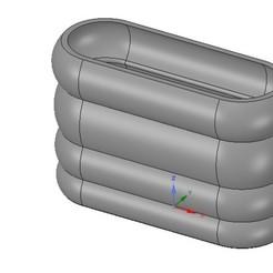 Descargar archivos STL vasija de vaso para 3d-print o cnc, Dzusto