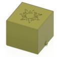 cube-02-a1 v1-12.png Descargar archivo OBJ Caja de regalo Caja secreta pequeña caja secreta Modelo de impresión en 3D • Modelo para imprimir en 3D, Dzusto