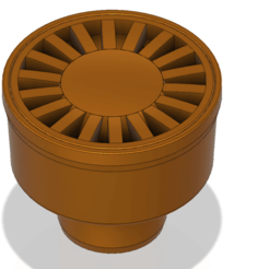 floor_drain_trap_dt03 v1-00.png Download OBJ file Floor simple Drain trap Round d100 odore block 3d print and cnc • 3D printing object, Dzusto