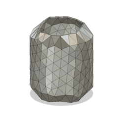 Download 3D printer designs disco style vase cup vessel v51 for 3d-print or cnc, Dzusto