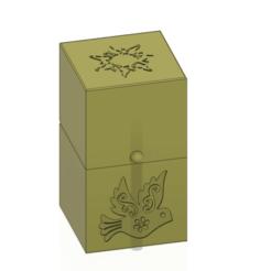 Télécharger fichier 3D Coffret cadeau petit coffret à bijoux boîte secrète modèle d'impression 3D, Dzusto
