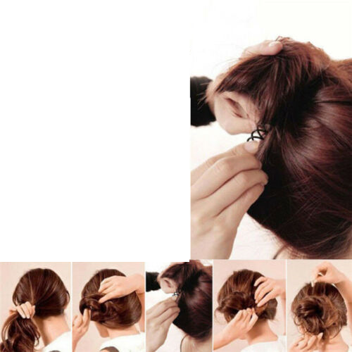 Female braid hair 02-03.png Download STL file Spiral Spin Screw Hair Pins Clip Twist Barrette female WEDDING Accessory hair braid hair styling roller hair accessories for girl headdress weaving tool fbh-02 3d print cnc • Design to 3D print, Dzusto