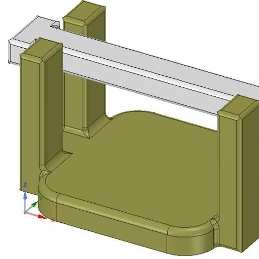Download 3D model kitchen table napkin holder for outside garden real 3D printing , Dzusto