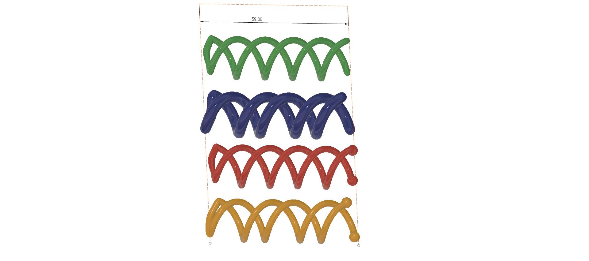Female braid hair 02 v4-d21.png Download STL file Spiral Spin Screw Hair Pins Clip Twist Barrette female WEDDING Accessory hair braid hair styling roller hair accessories for girl headdress weaving tool fbh-02 3d print cnc • Design to 3D print, Dzusto