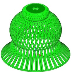 Download 3D printing models Lights Lampshade v18 for real 3D printing , Dzusto