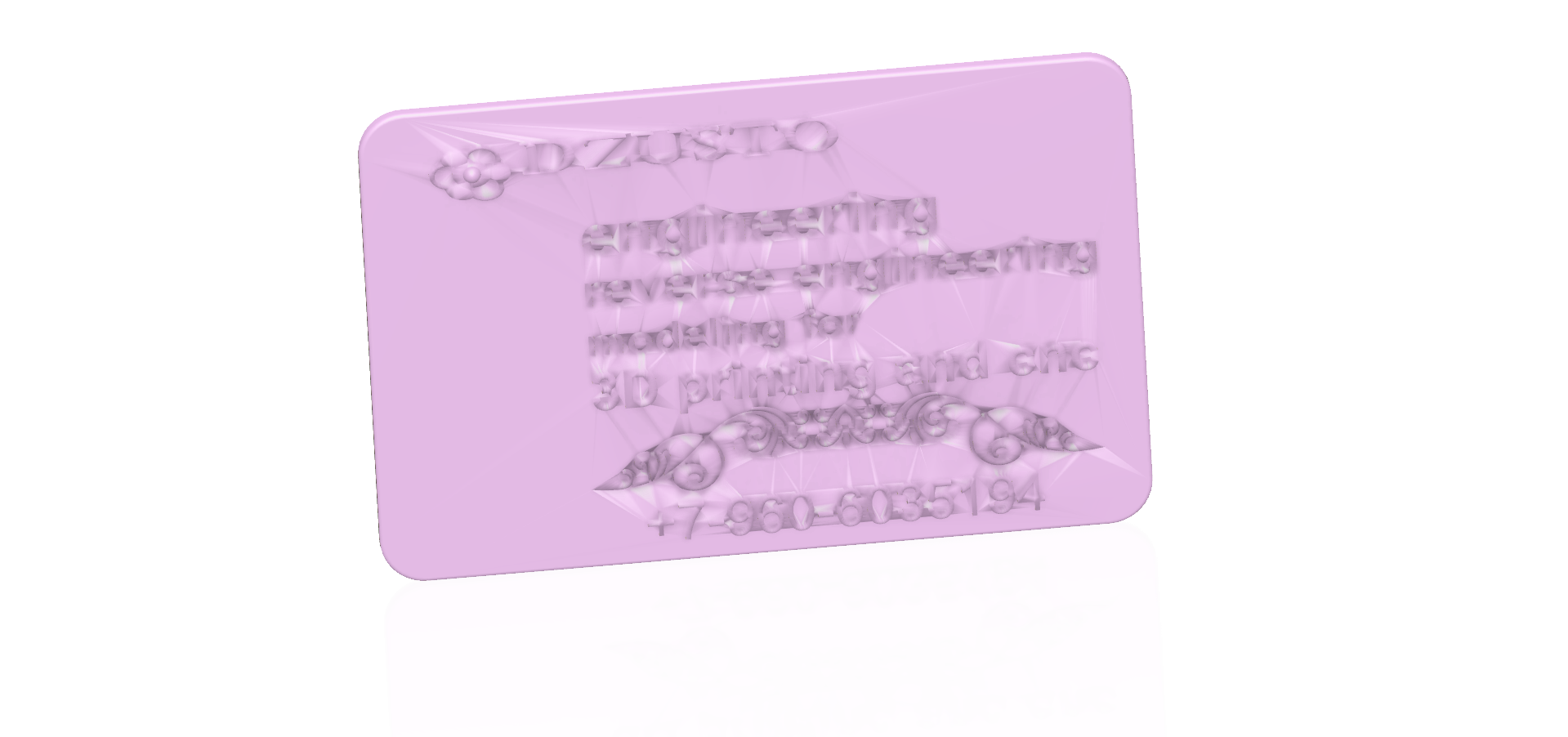business card 01 v4 STL-91.png Download free STL file Modeling product engineering reverse-engineering 3d print cnc • 3D printing design, Dzusto