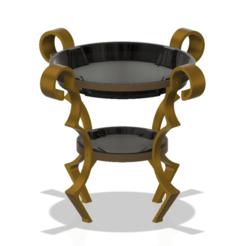 ontable-vase-04 v8-00.png Télécharger fichier STL Vase de table préfabriqué support pour fruits et légumes confiserie desserts tasse pot cruche récipient ot-04 pour 3d-print ou cnc • Design pour impression 3D, Dzusto