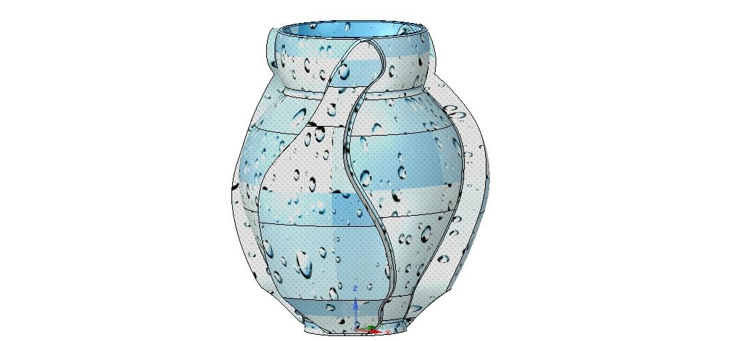 Vase05-06.jpg Download OBJ file vase cup vessel v05 for 3d-print or cnc • 3D printable template, Dzusto