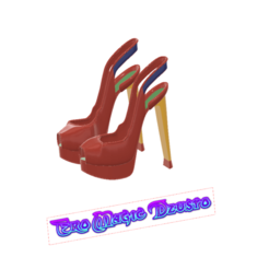 female_sandals_06 v6-01.png Download STL file sex girlfriend Purple women shoes fashion real sandarls s06 sex play 3d-print and cnc • 3D printer model, Dzusto