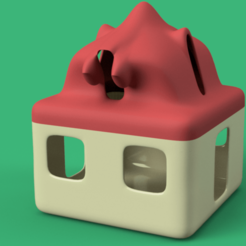 home_02 v8-r2-2.png Download OBJ file development candlestick toy game dragon house 3d cnc • 3D printable design, Dzusto