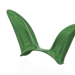 Descargar STL cosplay de orejas de conejo para 3d-print y cnc, Dzusto