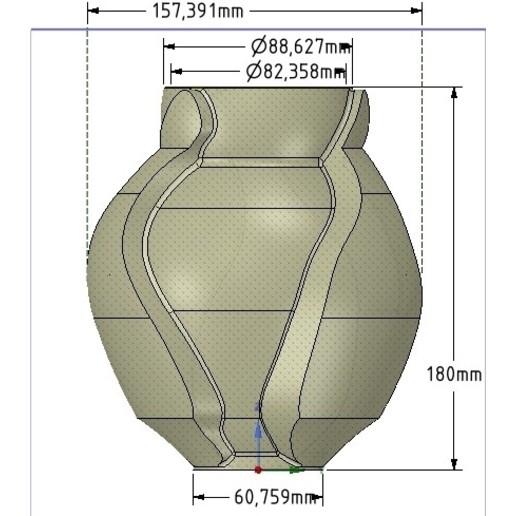 Vase05-21.jpg Download OBJ file vase cup vessel v05 for 3d-print or cnc • 3D printable template, Dzusto