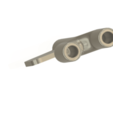snuffer-04 v1-03.png Download STL file tobacco snuffer inhalation tube with blade Two Hose Snuff Tube Snorters Double Tube Sniffer vts04 for 3d-print and cnc • 3D printer design, Dzusto