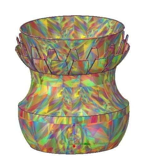 Download 3D printing files vase cup vessel v11 for 3d-print or cnc, Dzusto