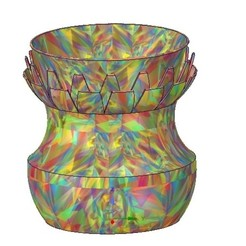 Download 3D printing files vase cup vessel v11 for 3d-print or cnc, Dzusto