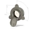 Télécharger fichier STL Drain de descente d'eau de pluie v23 2 pouces 3d-print ou cnc parapet de parapet de buse, Dzusto