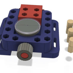 Download 3D printing designs holder for repair and adjustment of clock vise fixture device, Dzusto