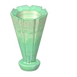 Télécharger fichier 3D vase vase cup v35 pour impression 3d ou cnc, Dzusto