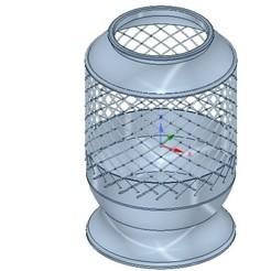 Télécharger STL vase vase cup v04 pour impression 3d ou cnc, Dzusto