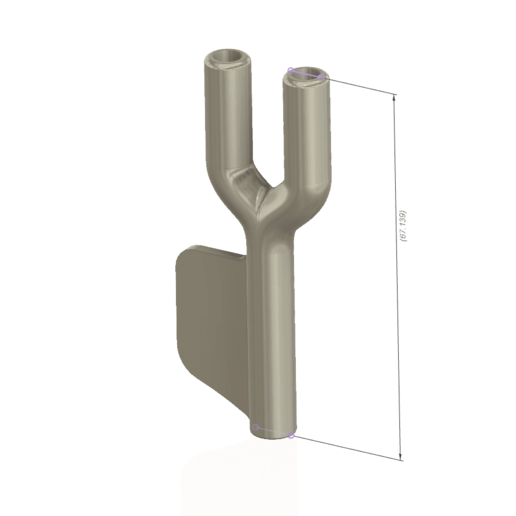 snuffer-04 v1-d21.png Download STL file tobacco snuffer inhalation tube with blade Two Hose Snuff Tube Snorters Double Tube Sniffer vts04 for 3d-print and cnc • 3D printer design, Dzusto